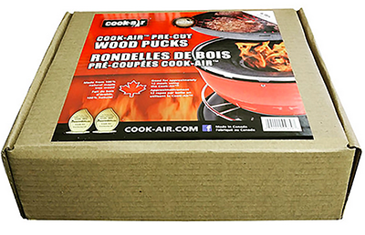 Cook-Air Wood Pucks